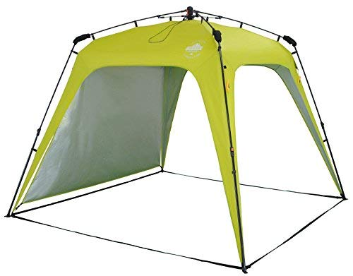 Lumaland Outdoor Pop Up Pavillon Gartenzelt Camping Partyzelt Zelt robust wasserdicht Grün