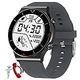 BNMY Relojes Inteligente Hombre Smartwatch con Llamadas Pulsómetro Presión Arterial, Monito De Sueño,Podómetro Pulsera Reloj Impermeable IP68 para Android iOS,F