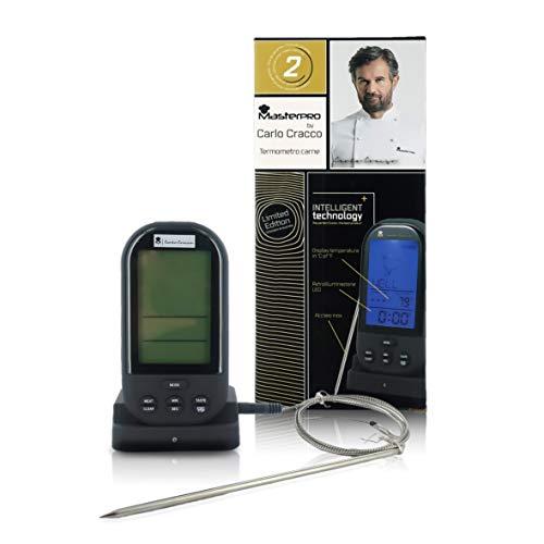 Termómetro para carne de horno, sonda medidora y temperatura para cocinar, línea Masterpro