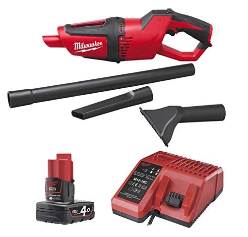 Why Should You Buy Milwaukee M12HV-0 Plus M12B4, 1 X 12V 4.0AH LI-ION, Cordless Vacuum Cleaner with ...