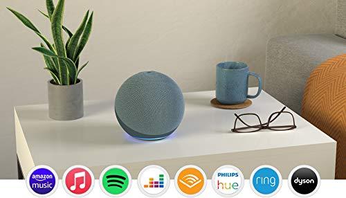 Echo (4th generation) | With premium sound, smart home hub and Alexa |...