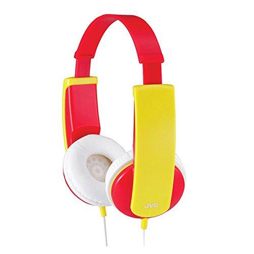 JVC HAKD5R Kids Headphones - Red