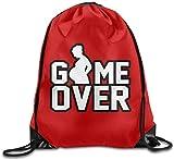 engzhoushi Turnbeutel,Sporttaschen,Schultasche Funny Gym Selfie Sport Backpack Drawstring Print Bag