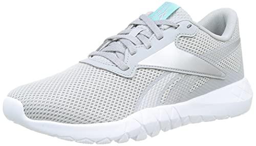 Reebok Damen Flexagon Energy Tr 3.0 Leichtathletik-Schuh, Pure Grey 3 Silver Met Pixel Mint, 39 EU