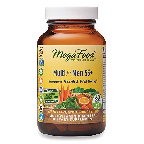 MegaFood, Multi for Men 55+, 60 Tablets (30 Servings) (FFP)