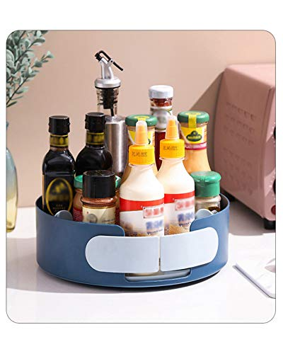 F-XW Organizador Especiero Giratorio,Soporte Giratorio para Condimentos,para Encimera Despensa Mueble De Cocina,Multifunción