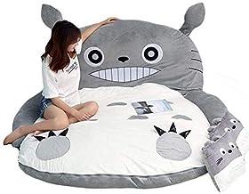 Tatami Mattress Totoro PP Cotton Cartoon Tatami Lazy Plush Sleeping Pad Cute Sleeping Bag Sofa Bed for Children Lovely Dor...