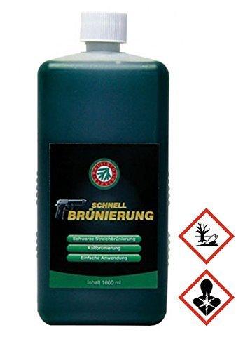 Ballistol Brunitura veloce per Armi, 1000 ml per immacolata brunire da In acciaio e Ferro