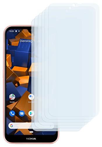 mumbi Schutzfolie kompatibel mit Nokia 4.2 Folie klar, Bildschirmschutzfolie (6X)