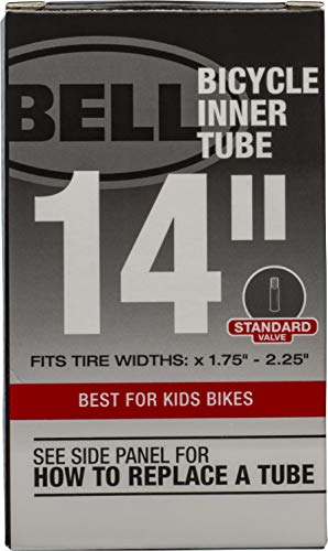 Bell Universal Inner Tube with Width Fit Range 1.75-Inch to 2.25, 14-Inch, Black