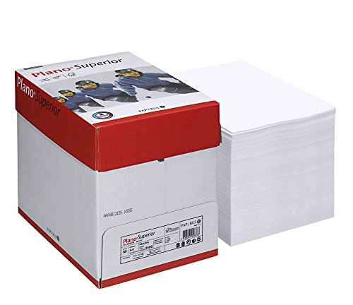 Maxibox Plano Kopierpapier Superior A4 80 g/qm 2.500 Blatt