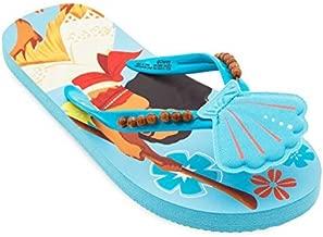 Shop Disney Moana Flip Flops Sandals For Girls - Pua hei hei (11/12)