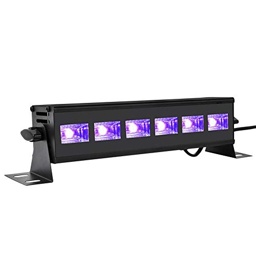 Barra UV LED De 18 Vatios Púrpura Luz LED UV Púrpura para Iluminación De Escenario De Fiesta Blacklight