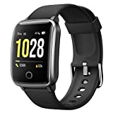 Willful Smart Watch Women Men Smartwatch Sport Watch Pedometer Heart Rate Monitor Smart Watch Waterproof ECG Stopwatch Alarm GPS Shared 11 Sport Modes for iPhone Android Telephone