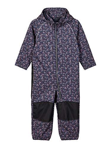 NAME IT Girl Softshell-Anzug Alfa Blumenprint 86Ombre Blue