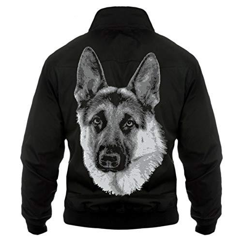 Spaß kostet Männer und Herren Harrington Jacke Deutscher Schäferhund Schäferhund (mit Rückendruck) Größe S - 5XL