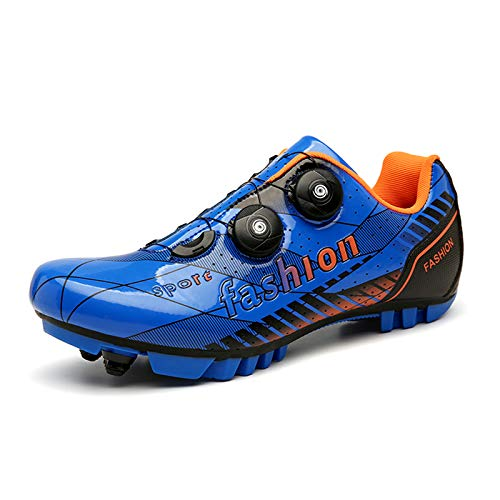Zapatillas de Ciclismo MTB para Hombres Mujer Zapatillas Ciclismo Carretera Zapatillas de Bicicleta de Montaña/Carretera Profesionales Antideslizantes Respirables Calzado de Ciclismo