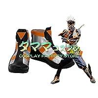 仮面ライダー風魔 仮面ライダーエグゼイド Kamen Rider EX-AID コスプレ 靴 ブーツ コスプレ靴 cosplay オーダーサイズ/スタイル 製作可能 【タママ】(25.5cm)