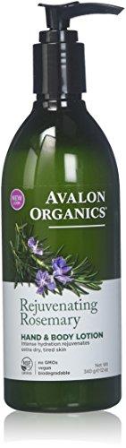 Avalon Organics Rosemary Hand & Body Lotion 350ml (1 Unit)