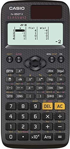Casio fx-85GTX Wissenschaftlicher Taschenrechner, Schwarz