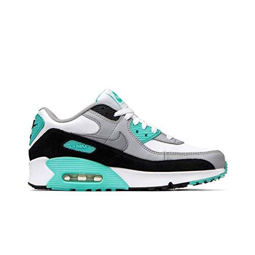 Nike Kinder Air Max 90 LTR (GS) Sneaker Weiß 38,5
