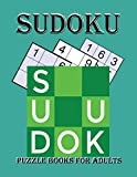 sudoku puzzle books for adults: sudoku puzzle books for adults medium to hard for adults kids and beginners spiral bound ,Easy, Medium, Hard Sudoku ... with solutions ,Hard Sudoku puzzles 9x9,