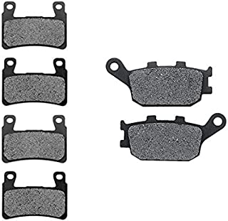 Non-Metallic Organic NAO Brake Pads Set KMG Front Brake Pads for 2003-2006 Bombardier Outlander 400 Max HO