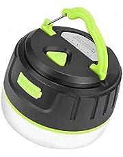 BRISIE LEDランタン 暖色 電球色 USB充電式 モバイルバッテリー IP65 防水&防塵 5つ調光モード マグネット式 アウトドア&防災用品 【196ルーメン/連続点灯50時間】