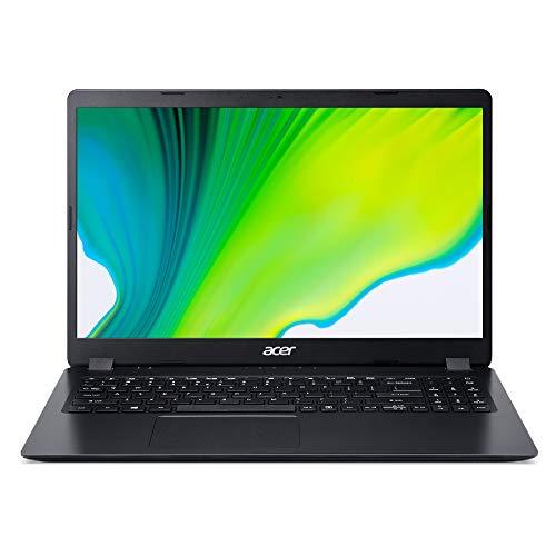 Acer Aspire 3 A315-56-52ZT Ordinateur Portable 15.6'' FHD, PC Portable (Intel Core i5-1035G1, RAM 8Go, SSD 512Go, Intel UHD Graphics, Windows 10) - Clavier AZERTY (Français), Laptop Noir