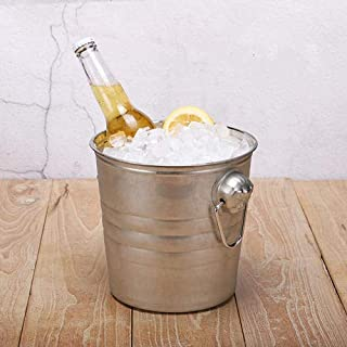 Stainless Steel Ice Bucket for Party Events Gathering(5Liter)