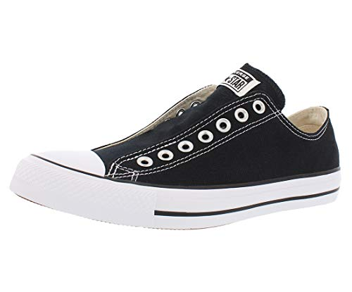 Converse Men's Chuck Taylor All Star Slip Sneaker, Black/White/Black, 9 M US