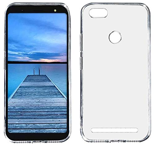 FCS® Transparent Full Protective Back Cover for- Micromax Yu Ace