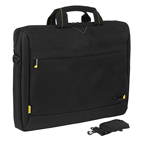Tech Air 1204 Toploading moderne klassieke laptoptas voor 13-14.1-inch notebooks (geel)