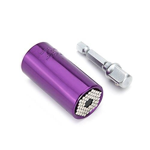 MASUNN Nouveaux Outils à Main Multifonctions de 7 à 19 mm Outils de réparation universels Seven-Color -Violet
