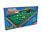 Noris 606167704 - Juego de Billar y Snooker (Incluye 2 Tacos, 16 billares y 17 Bolas de Snooker y triángulo, para niños a Partir de 4 años)
