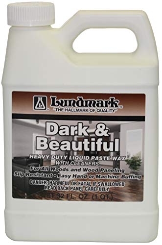 Lundmark Dark & Beautiful, Heavy-Duty Liquid Paste Wax with Cleaners, 32-Ounce, 3328F32-6