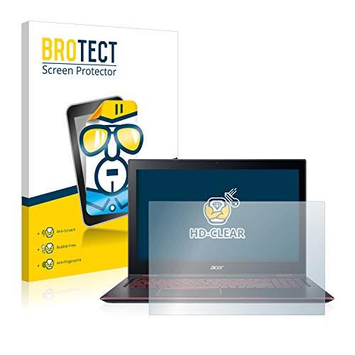 BROTECT Schutzfolie kompatibel mit Acer Nitro 5 Spin klare Bildschirmschutz-Folie