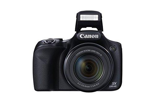 Canon PowerShot SX530 HS Cámara compacta 16 MP 1/2.3' CMOS 4608 x 3456 Pixeles Negro - Cámara Digital (16 MP, 4608 x 3456 Pixeles, CMOS, 50x, Full HD, Negro)