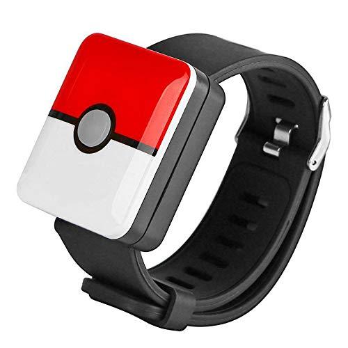 Starmood per Pokemon Go Plus Bluetooth Polsino Auto Catch Braccialetto Gioco Smart Accessori Giocattoli - Rosso
