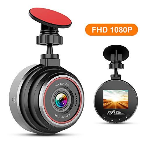 FLYLINKTECH DashCam, 1080P Full HD Auto Kamera, 170° Weitwinkelobjektiv, Mini DVR Fahren Rekorder,...