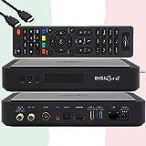 TiVuSat Tarjeta 4K UHD + DIGIQuest Q60 Combo 4K H.265...