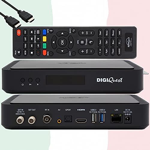TiVuSat Karte 4K UHD + DIGIQuest Q60...