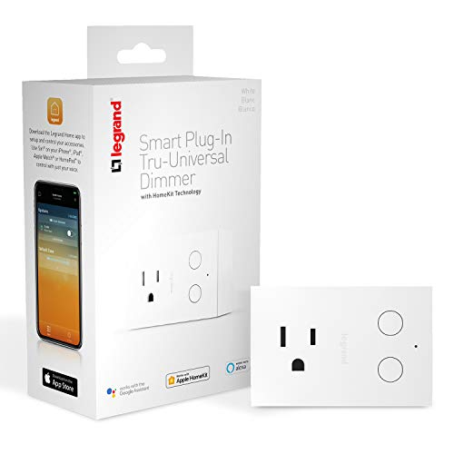 Legrand - Pass & Seymour HKRP20 Smart Switch Setup & Can Be Used Hub Works with Apple HomeKit, No Wiring Required, iOS only, White