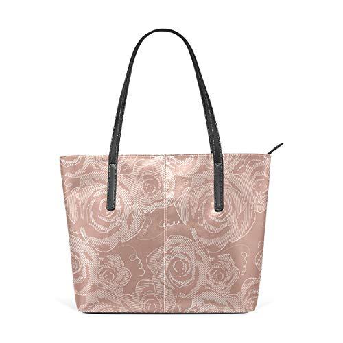 FANTAZIO Handtasche Schultertasche Rose...