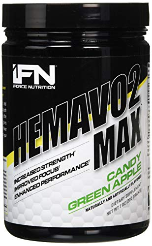 Iforce Nutrition Hemavo2 Max 25 Servings Candy Green Apple, 600 g