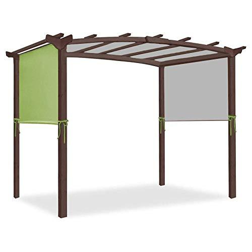 Nrkin gazebo pergola canopy, pergola patio canopy, UV shading terrace garden sun protection sun roof, durable replacement awning sun shade.