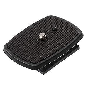 DSLR SLR Camera Quick Release Plate Tripod Head Screw Adapter Mount for Amazon Basics 60