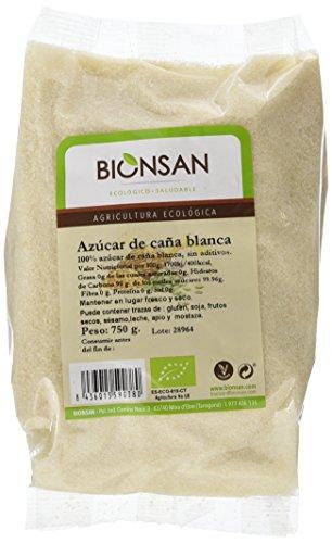 Bionsan Azúcar de Caña Blanca Ecológica- 2 Bolsas de 750