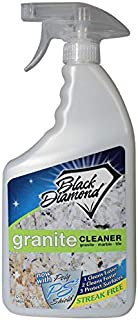 Black Diamond Stoneworks Granite Counter Cleaner: Natural Stone, Marble, Travertine, Tile, Quartz, Concrete Countertops and Antiques. (32OZ)