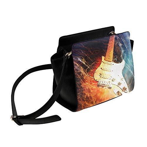 Jazz Rock Cool Guitarra eléctrica para niño Bolso bandolera Bolsos bandolera Bolsas...